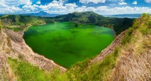 Volcan de Taal, Manille, Philippines Photos libres de droits