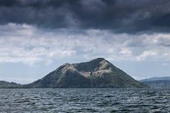 Volcan de Taal, Philippines Photo libre de droits