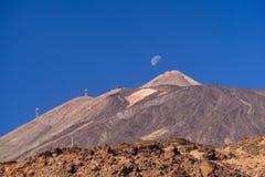 Volcan de Teide de bâti Photographie stock libre de droits