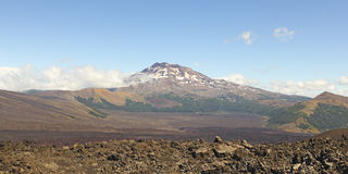 Volcan de Tolhuaca, Chili Images libres de droits