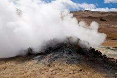 Volcan de vapeur photo libre de droits