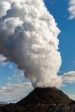 Volcan de vapeur photographie stock