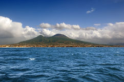Volcan de Vesuvio. Naples. l'Italie Photo libre de droits