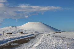 Volcan dormant photographie stock