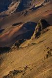 Volcan dormant dans Haleakala. photographie stock