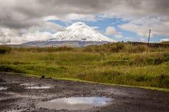 Volcan du Cotopaxi Photographie stock