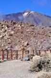 Volcan, El Teide, Тенерифе Стоковые Изображения RF