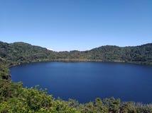 Volcan Ipala Guatemala immagini stock