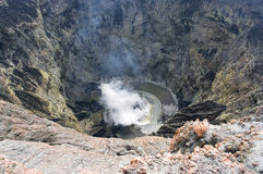 Volcan Kerinci. Sumatra, Indonésie Image libre de droits