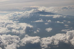 Volcan l'Etna Photos stock