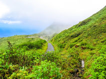 Volcan La Soufriere Royalty Free Stock Image