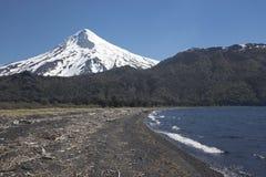 Volcan Lanin, Patagonia, Argentina Fotografia Stock Libera da Diritti