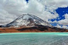 Volcan Licancabur Arkivbilder