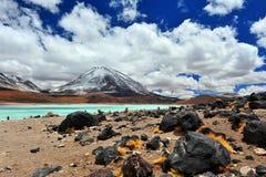 Volcan Licancabur Obrazy Stock