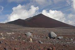 Volcan Llaima στο πάρκο nacional Conguillo, Χιλή Στοκ εικόνα με δικαίωμα ελεύθερης χρήσης