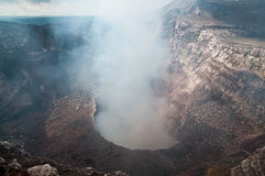 Volcan Masaya conduit Stock Images