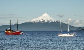Volcan Osorno imagenes de archivo