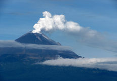 VOLCAN POPOCATEPETL Royalty Free Stock Image