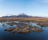 Volcan Sajama Photo libre de droits