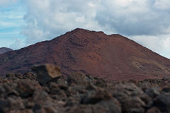 Volcan sur Lanzarote Photos stock