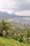 Volcan Tavurur et Rabaul Caldere Photos libres de droits