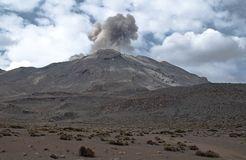 Volcan Ubinas photos libres de droits
