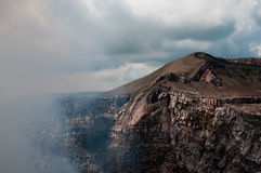 Volcan view Stock Image