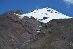 Volcan villarica Arkivbild