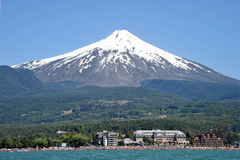 Volcan Villarrica, Χιλή Στοκ Φωτογραφίες