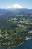 Volcan Villarrica и Pucon Чили стоковые изображения rf