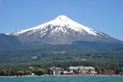 Volcan Villarrica, Chile zdjęcia stock