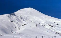 Volcan Villarrica i Chile Arkivfoton