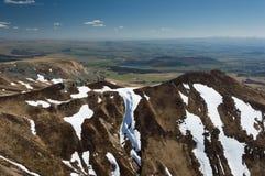 Volcanes de las montañas Imagen de archivo