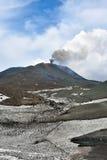 Volcanes del Etna Imágenes de archivo libres de regalías