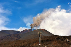 Volcanes del Etna Fotografía de archivo