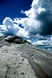 Volcanes del fango imagen de archivo libre de regalías
