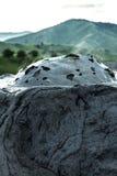 Volcanes del fango foto de archivo