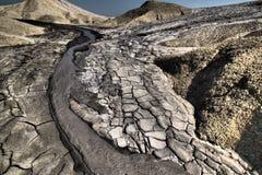 Volcanes del fango imágenes de archivo libres de regalías