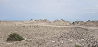 Volcanes del fango de Azerbaijan Foto de archivo libre de regalías