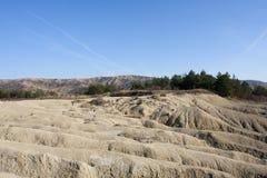 Volcanes del fango en Buzau Fotografía de archivo libre de regalías