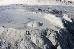 Volcanes del fango en Buzau, Rumania Imagen de archivo