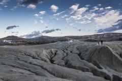Volcanes fangosos en Rumania Fotografía de archivo