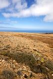 Volcanes volcaniques Lanzarote de pierre de roche de l'Espagne Tim photo stock