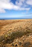 volcanes volcaniques Lanzarote de pierre de roche de timanfaya de l'Espagne photographie stock libre de droits