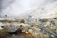 Volcanic activity Stock Photography