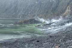 Volcanic activity Royalty Free Stock Images