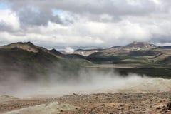 Volcanic area royalty free stock photo