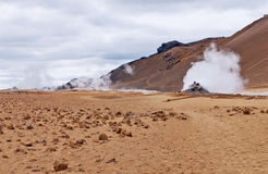 A volcanic area - Iceland Stock Photos