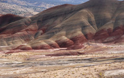 Volcanic Ash Colored Hills Royalty Free Stock Photo