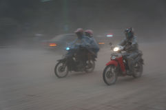 Volcanic ash Stock Photo